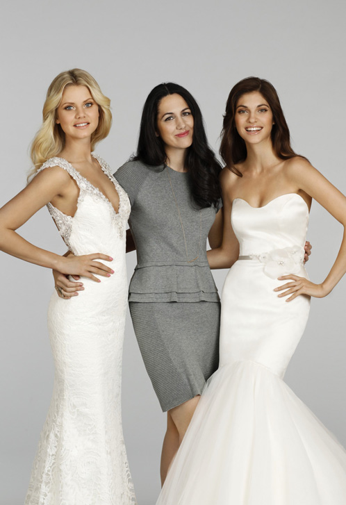 Jessica Williams Alvina Valenta bridal gowns bridesmaids dresses