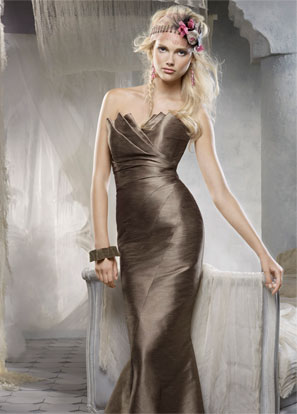 Alvina Maids Bridesmaids and Special Occasion Dresses Style 9166 by JLM Couture, Inc.