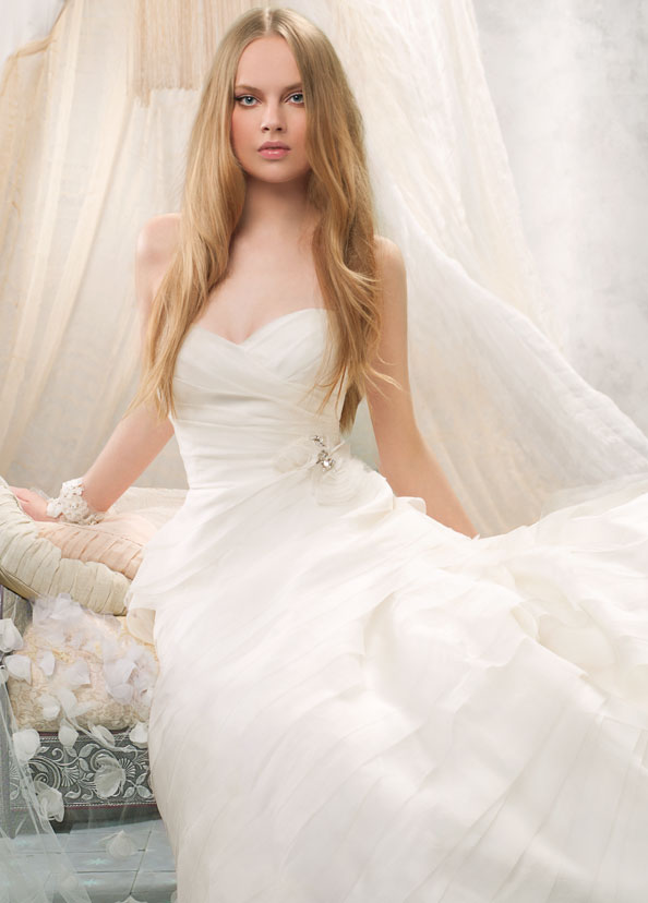 Alvina Valenta Bridal Gowns, Wedding Dresses Style AV9114 by JLM Couture, Inc.