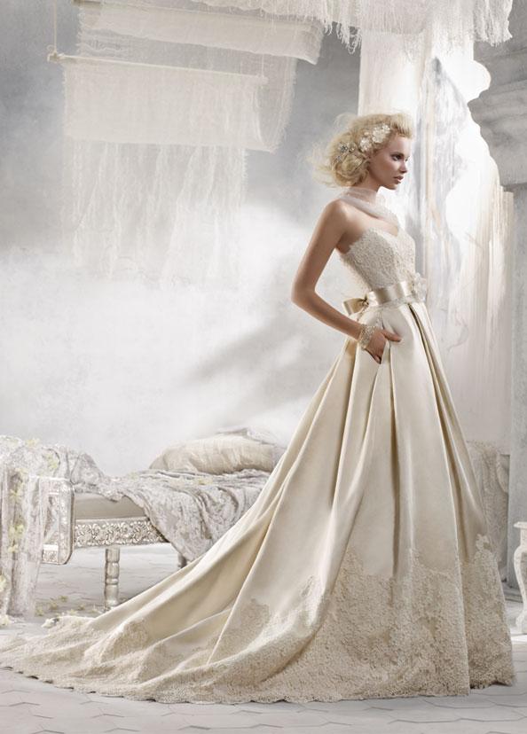 Alvina Valenta vestidos de noiva, vestidos de casamento estilo AV9215 por JLM Couture, Inc.