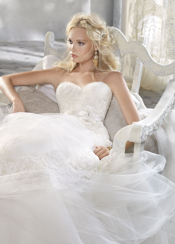 Alvina Valenta Bridal Gowns, Wedding Dresses Style AV9162 by JLM Couture, Inc.