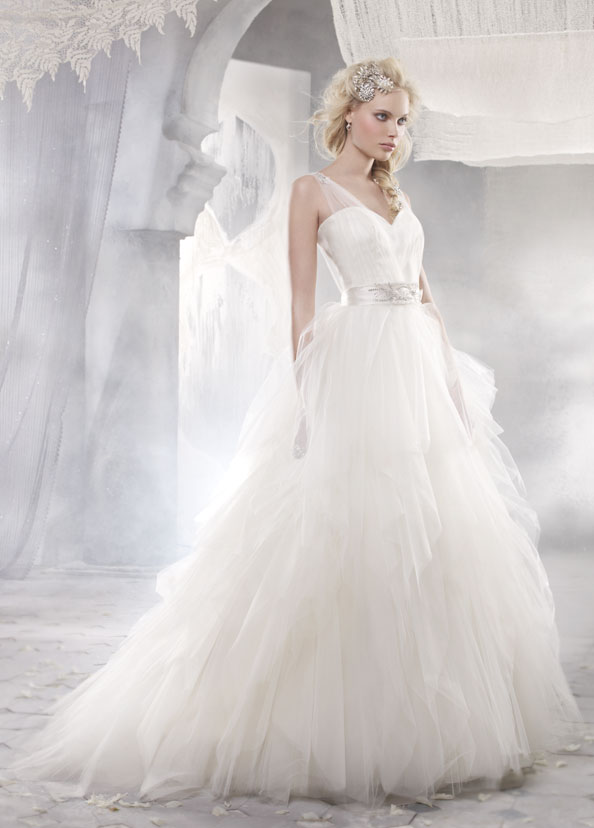 Alvina Valenta Bridal Gowns, Wedding Dresses Style AV9261 by JLM Couture, Inc.