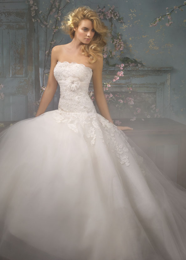 Alvina Valenta Bridal Gowns, Wedding Dresses Style AV9000 by JLM Couture, Inc.