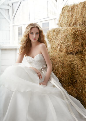 Jim Hjelm Blush Bridal Dresses Style 1204 by JLM Couture, Inc.