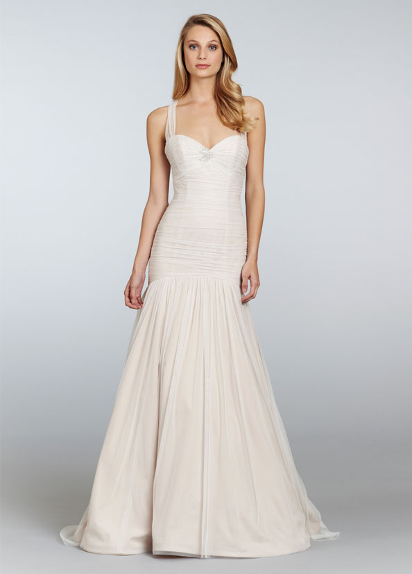 Jim Hjelm Blush Bridal Gowns, Wedding Dresses Style 1300 by JLM Couture, Inc.