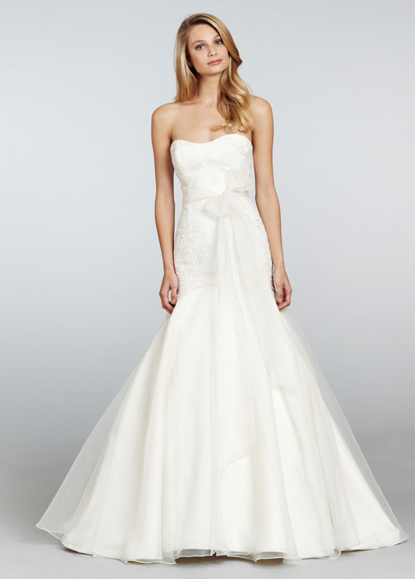 Jim Hjelm Blush Bridal Gowns, Wedding Dresses Style 1306 by JLM Couture, Inc.