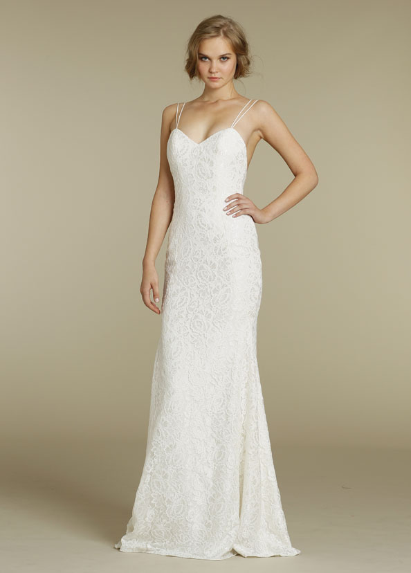Jim Hjelm Blush Bridal Gowns, Wedding Dresses Style 1202 by JLM Couture, Inc.