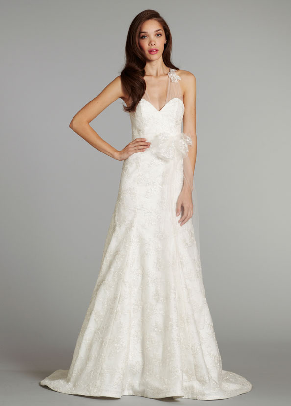 Jim Hjelm Blush Bridal Gowns, Wedding Dresses Style 1250 by JLM Couture, Inc.