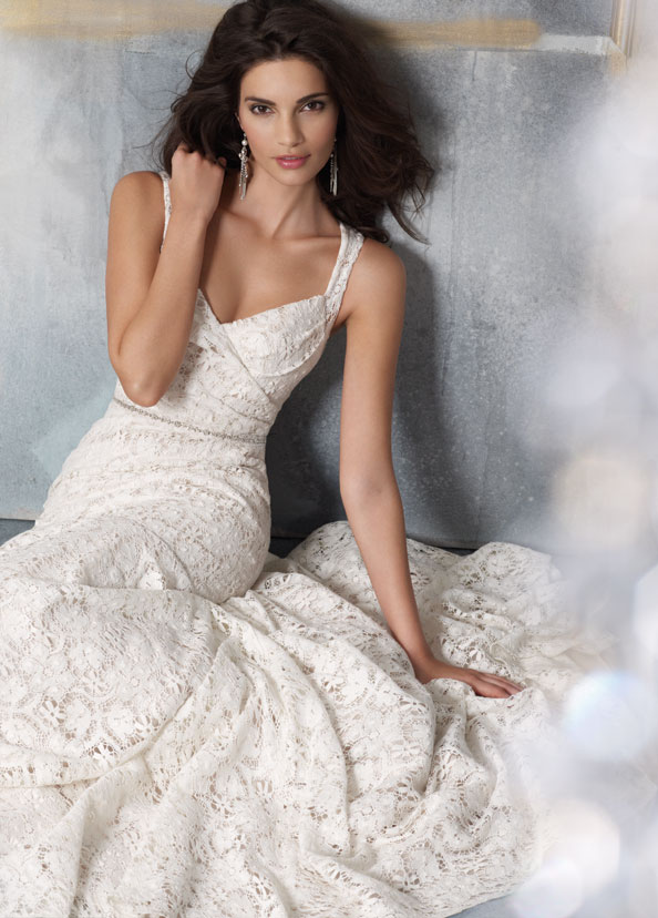 Jim Hjelm Blush Bridal Gowns, Wedding Dresses Style 1104 by JLM Couture, Inc.