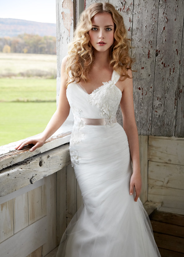 Blush Bridal Gowns, Wedding Dresses Style 1205 by JLM Couture, Inc.