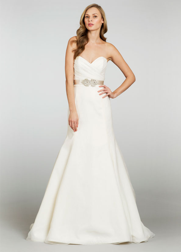 Jim Hjelm Blush Bridal Gowns, Wedding Dresses Style 1303 by JLM Couture, Inc.