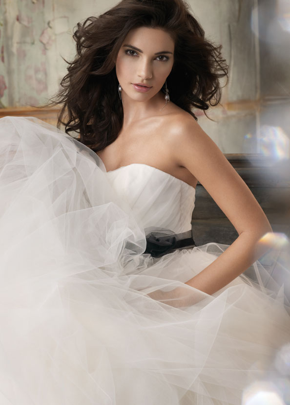 Jim Hjelm Blush Bridal Gowns, Wedding Dresses Style 1105 by JLM Couture, Inc.