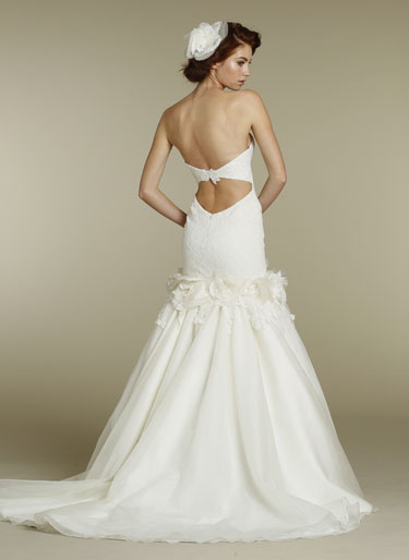 Anyone have real bride photos of the following dresses? (Kinda pic heavy) :  wedding dress pictures real bride Hayley Paige Bridal Corded Embroider Lace Fit Flare Gown Flower Applique Silk Organza Skirt Cut Out Bella 6206 X1