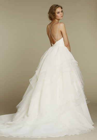 Hayley paige coco hattie for Hayley paige wedding dresses cost