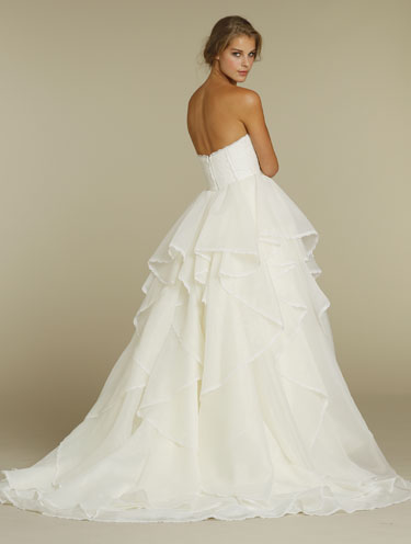 Bridal Gowns Wedding Dresses by Hayley Paige Style HP6205