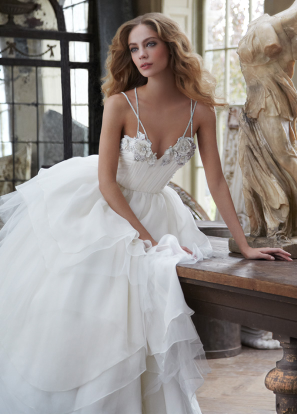 Hayley Paige Bridal Gowns, Wedding Dresses Style HP6200 by JLM Couture, Inc.