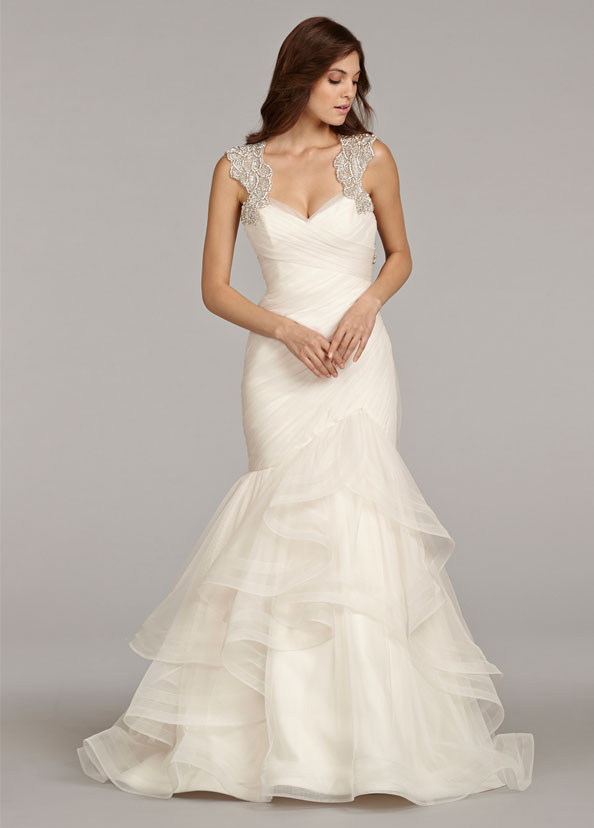Hayley Paige Bridal Gowns, Wedding Dresses Style HP6411 by JLM Couture, Inc.