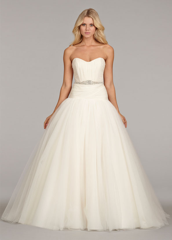 Hayley Paige Bridal Gowns, Wedding Dresses Style HP6407 by JLM Couture, Inc.