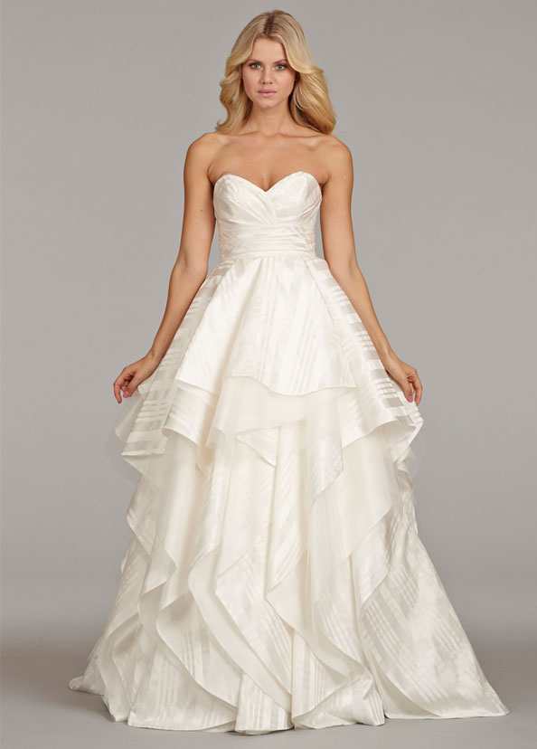 Hayley Paige Bridal Gowns, Wedding Dresses Style HP6403 by JLM Couture, Inc.