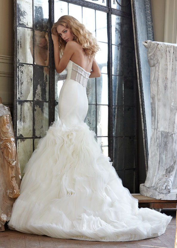 Hayley Paige Bridal Gowns, Wedding Dresses Style HP6203 by JLM Couture, Inc.