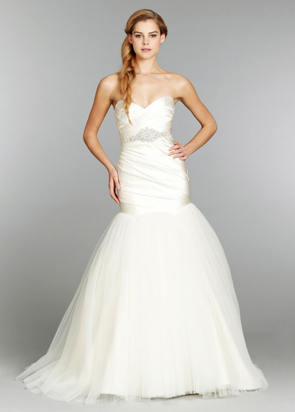 Hayley Paige Bridal Gowns, Wedding Dresses Style HP6354 by JLM Couture, Inc.