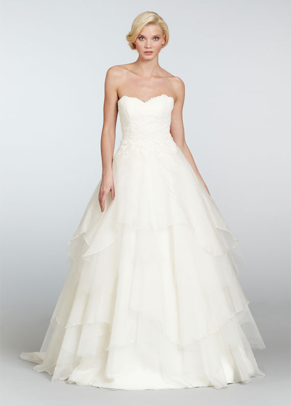 Hayley Paige Bridal Gowns, Wedding Dresses Style HP6309 by JLM Couture, Inc.