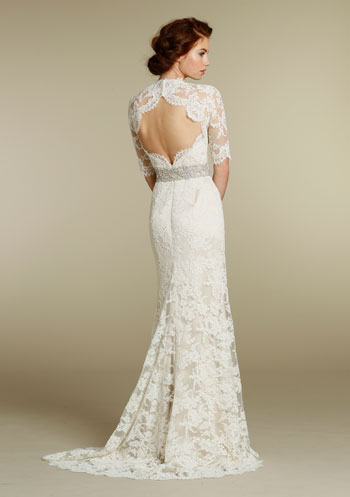 See this dress on JLM Weddings real brides: Melissa and Alexandra .