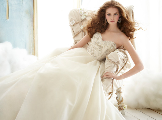 Jim Hjelm Bridal Dresses Style 8213 by JLM Couture, Inc.