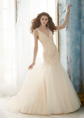 Jim Hjelm Bridal Dresses Style 8206 by JLM Couture, Inc.