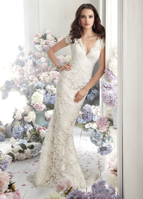 Jim Hjelm Bridal Gowns, Wedding Dresses Style jh8252 by JLM Couture, Inc.