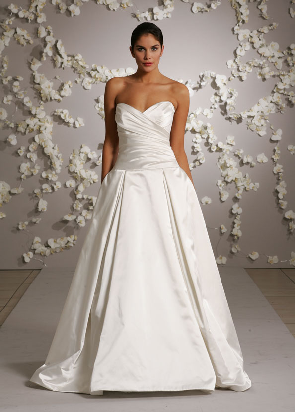 Jim Hjelm Bridal Gowns, Wedding Dresses Style jh8007 by JLM Couture, Inc.