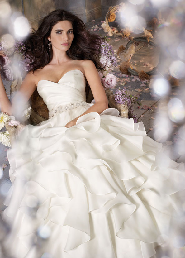 Jim Hjelm Bridal Gowns, Wedding Dresses Style jh8050 by JLM Couture, Inc.