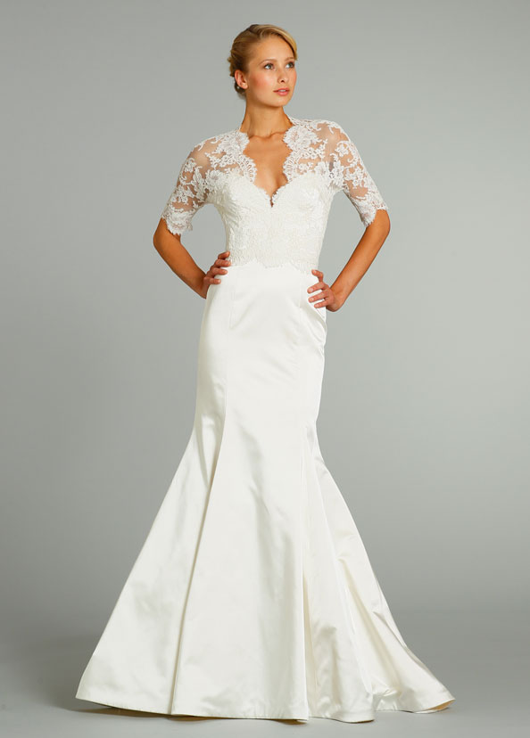 Jim Hjelm Bridal Gowns, Wedding Dresses Style jh8256 by JLM Couture, Inc.