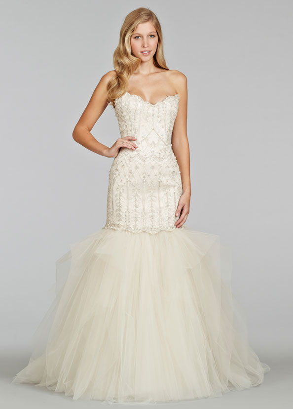 Jim Hjelm Bridal Gowns, Wedding Dresses Style jh8407 by JLM Couture, Inc.