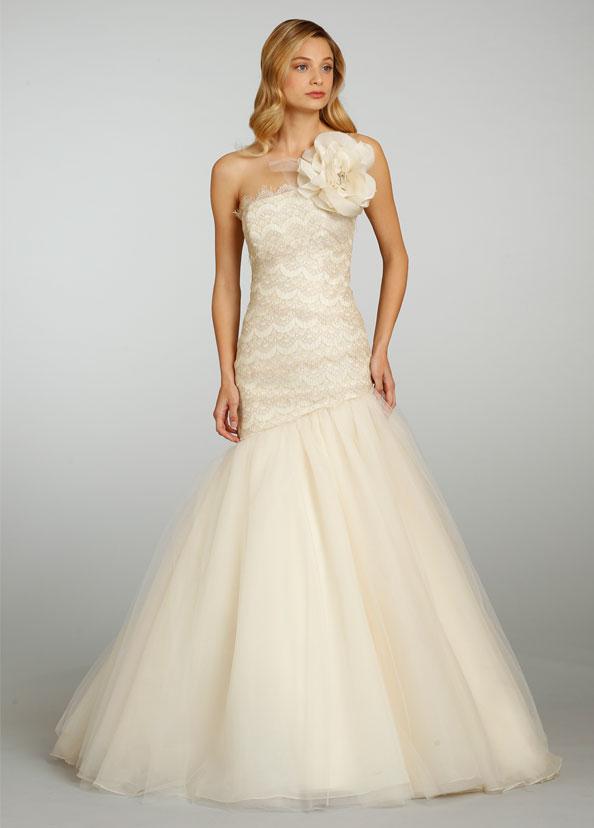 Jim Hjelm Bridal Gowns, Wedding Dresses Style jh8317 by JLM Couture, Inc.