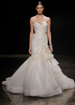 Lazaro Bridal Dresses Style 3415 by JLM Couture, Inc.