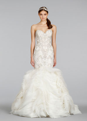 Lazaro Bridal Dresses Style 3400 by JLM Couture, Inc.