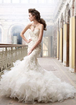 Lazaro Bridal Dresses Style 3215 by JLM Couture, Inc.
