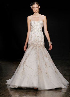 Lazaro Bridal Dresses Style 3409 by JLM Couture, Inc.