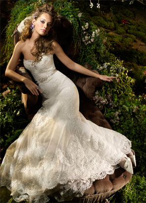 Lazaro Bridal Dresses Style 3004 by JLM Couture, Inc.