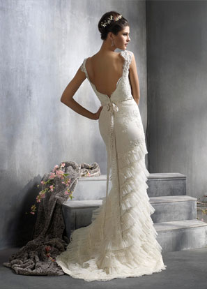 Lazaro Bridal Dresses Style 3818 by JLM Couture Inc wedding gowns