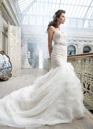 Lazaro Bridal Dresses Style 3201 by JLM Couture Inc