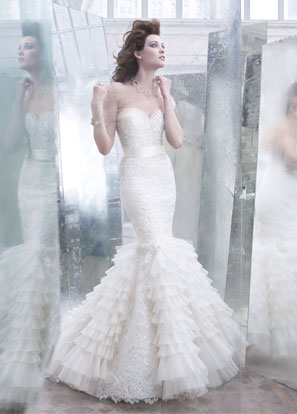 Lazaro Bridal Dresses Style 3258 by JLM Couture, Inc.