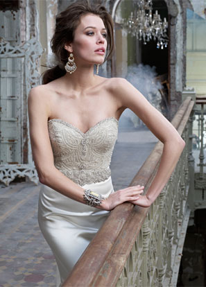Lazaro Bridal Dresses Style 3214 by JLM Couture, Inc.