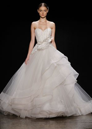 Lazaro Bridal Dresses Style 3413 by JLM Couture, Inc.
