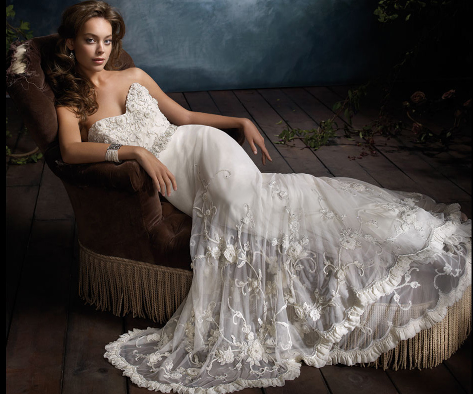 Lazaro Bridal Gowns, Wedding Dresses Style LZ3106 by JLM Couture, Inc.