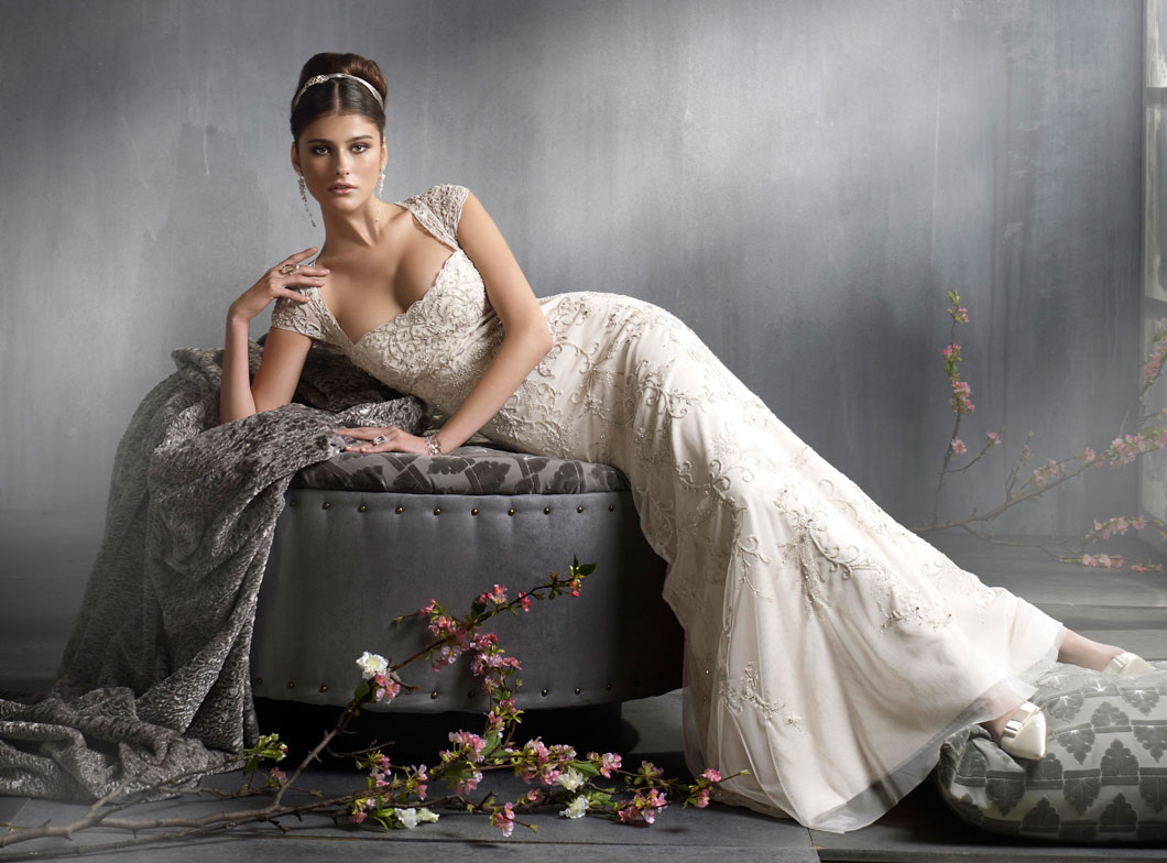 Lazaro Bridal Gowns, Wedding Dresses Style LZ3815 by JLM Couture, Inc.