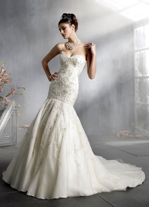Lazaro Bridal Gowns, Wedding Dresses Style LZ3804 by JLM Couture, Inc.