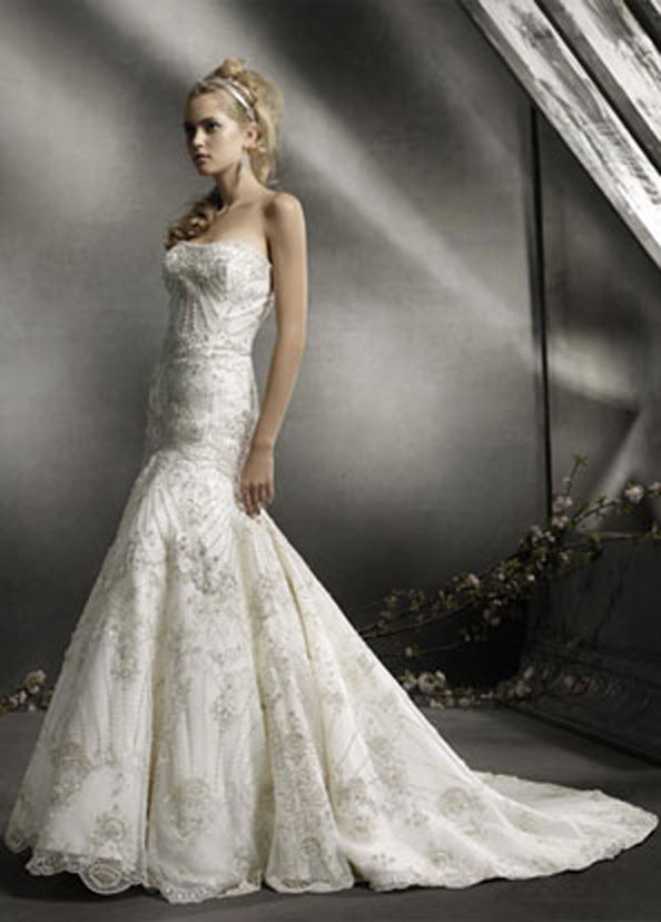 Lazaro Bridal Gowns, Wedding Dresses Style LZ3766 by JLM Couture, Inc.