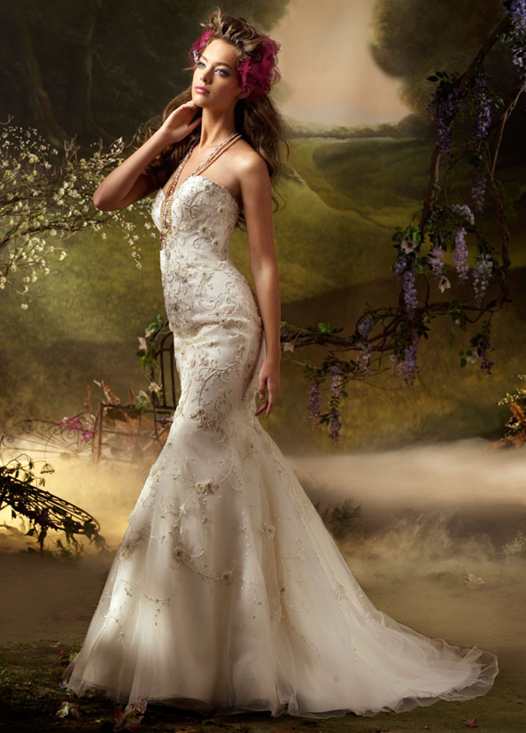Lazaro Bridal Gowns, Wedding Dresses Style LZ3003 by JLM Couture, Inc.